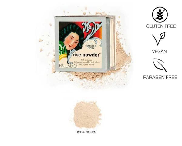 Palladio Rice Powder Natural