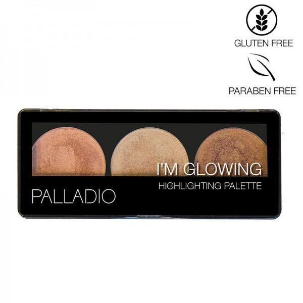 Palladio I'm Glowing Highlighting 3er Palette