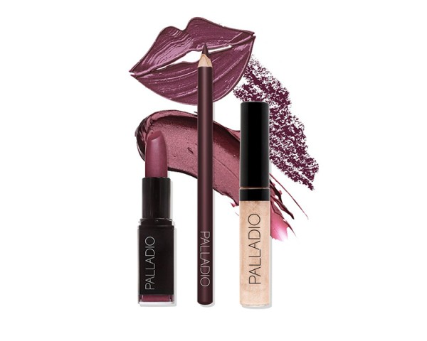 Palladio - Purple Lip Kit