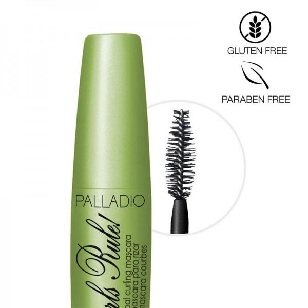 Palladio Mascara Curls Rule Black 12ml